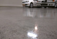 Thumbnail - garage floor epoxy coatings - view from floor
