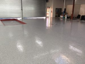 After Brooklyn Auto Shop floor repair image 2