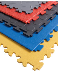 supratile options - grey, red, black, blue, yellow in different patterns
