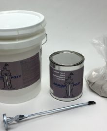 epoxy mortar set