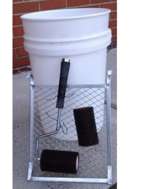 RES-4KIT-2 ArmorPoxy Kit with white bucket, squeegee and grate